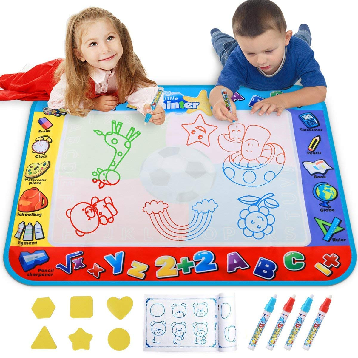 UNICORN ELEMENT Multiple Activity Toys Water Canvas for Children